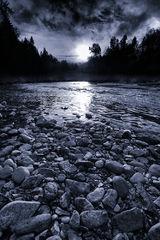 River Bank Moonrise