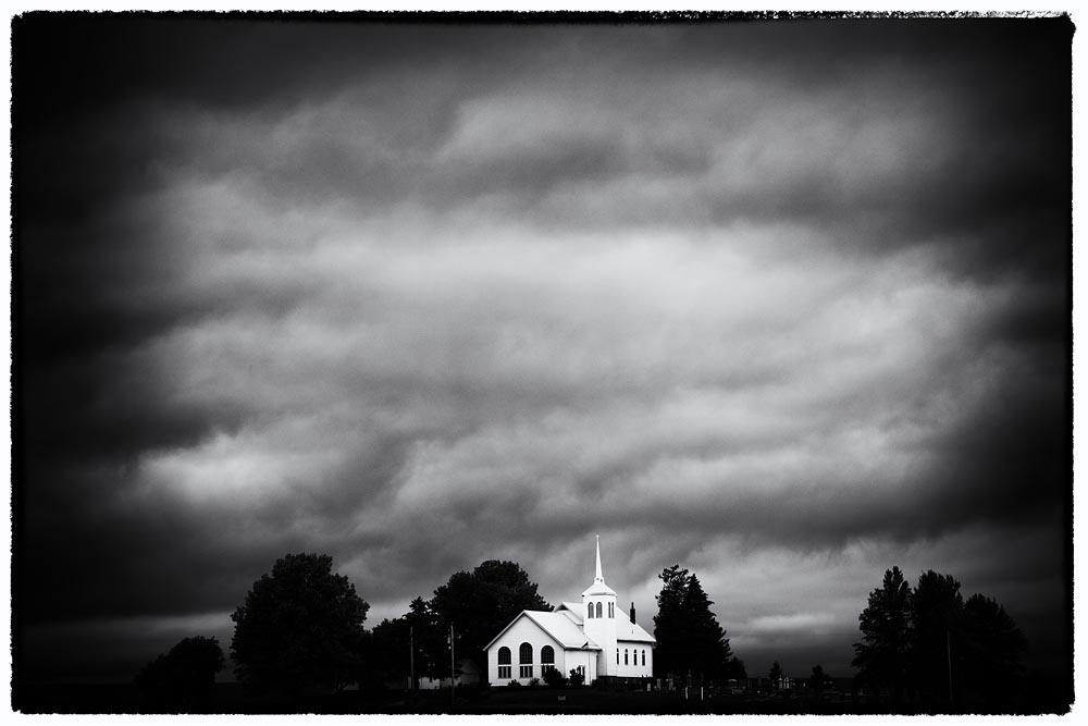 Church, Storm, Church and storm