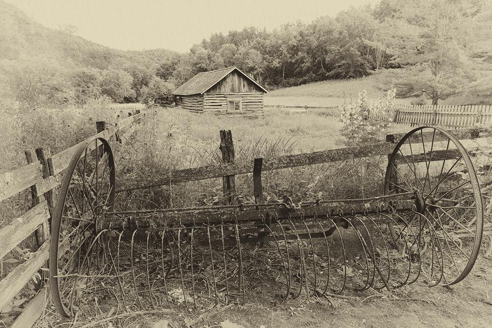 plow, cabin