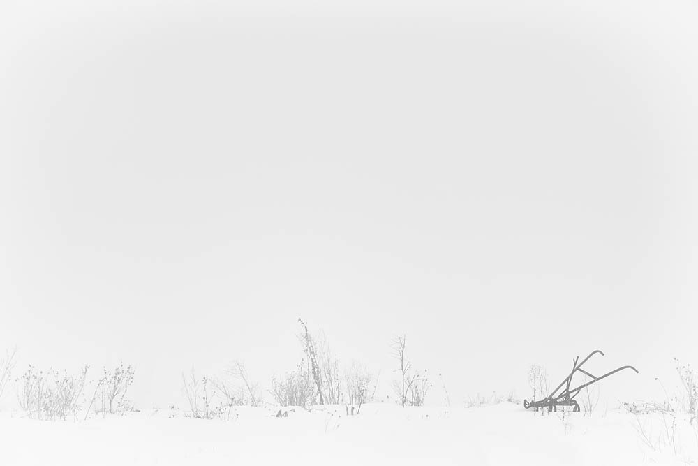 Winter, Plow, Snow