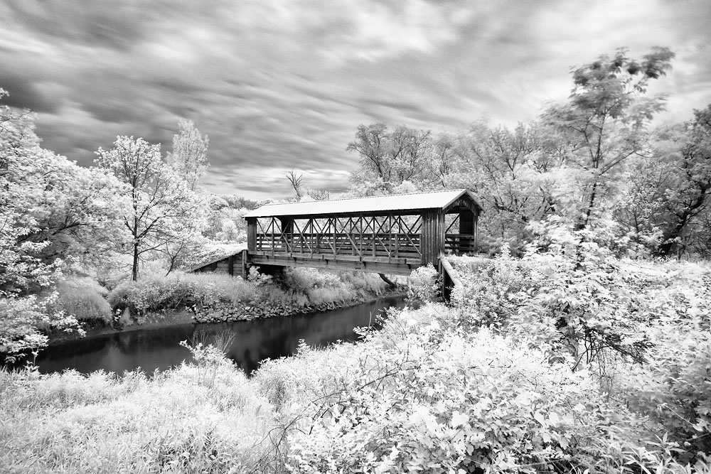 Bridge, Covered Bridge, IR Bridge